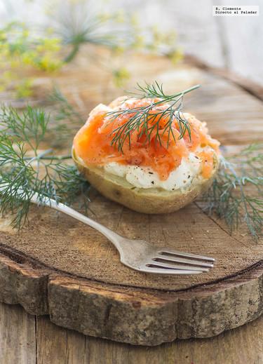 Patatas a la escandinava. Receta