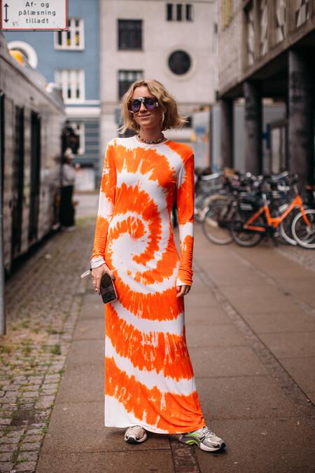 Street Style Vestido Maxi Entretiempo 2021 01