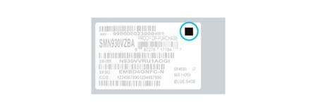 Samsung Galaxy Note 7 pegatina