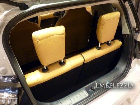 Maletero del Aston Martin Cygnet
