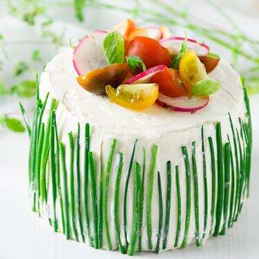 Receta de sándwich cake o Smörgåstårta, el pastel salado más delicioso para lucirte y triunfar con los invitados