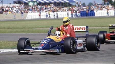Mansell Silverstone F1 1992