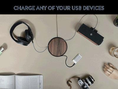 Eclipse, un cargador USB con el que ocultar los cables de tus gadgets