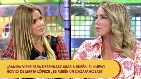 Marta López y Samira se enfrentan en