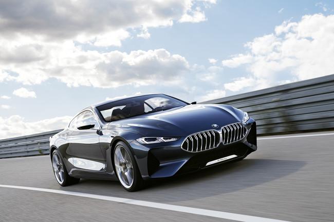 BMW Serie 8 Concept, cuando los bávaros deciden dejarte boquiabierto
