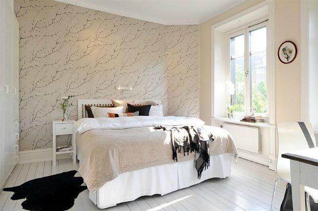 Casas que inspiran cuando el lujo es el espacio for Papeles para empapelar dormitorios