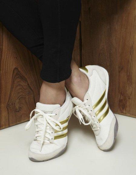 Adidas Superstar Franjas Doradas