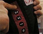 Ropa con funciones integradas para MP3