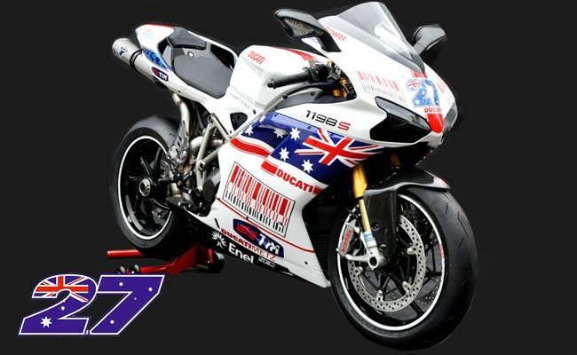 Ducati 1198S Casey Stoner réplica