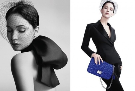 A Jennifer Lawrence le sienta bien ser la imagen de Miss Dior
