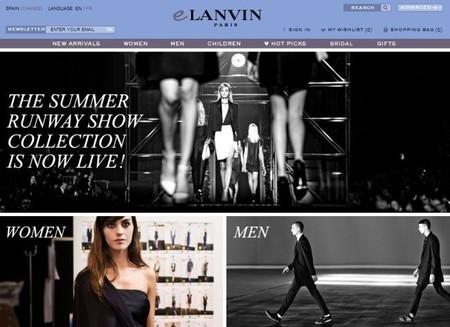 eLanvin , la firma de lujo centenaria se adapta a nuevos tiempos