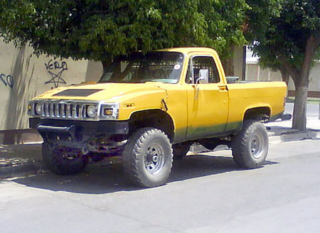 Hummer pickup