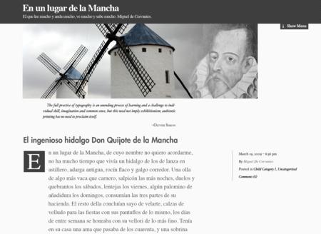 Cervantes Blog
