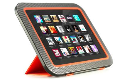 Ora quiere mejorar la experiencia de sonido en nuestro iPad con un híbrido entre base y altavoz