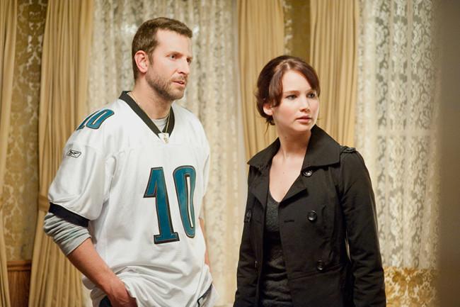 Jennifer Lawrence Bradley Cooper Silver Linings Playbook
