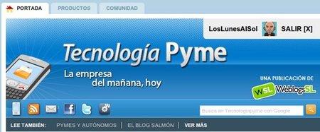 Actualizamos el diseño de Tecnología Pyme