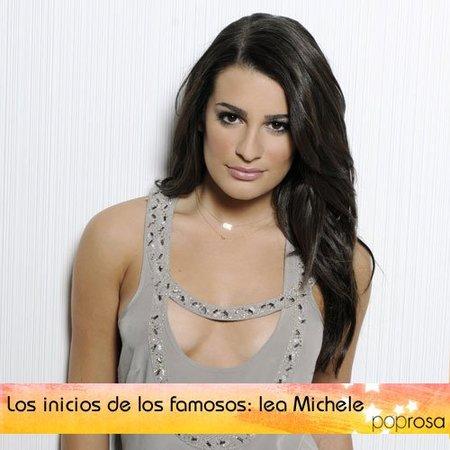 Los inicios de los famosos: Lea Michele