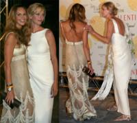Uma Thurman y Elle McPherson celebran el 45 aniversario de Valentino