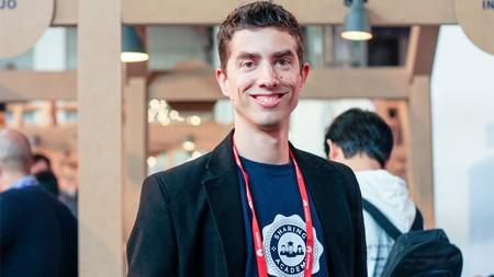 Jordi Llonch, uno de los fundadores de Sharing Academy, durante el Mobile World Congress.