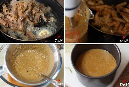 Cómo hacer mantequilla de marisco