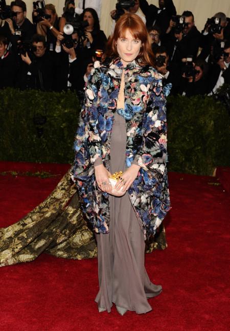 Florence Welch de Valentino Gala MET 2014