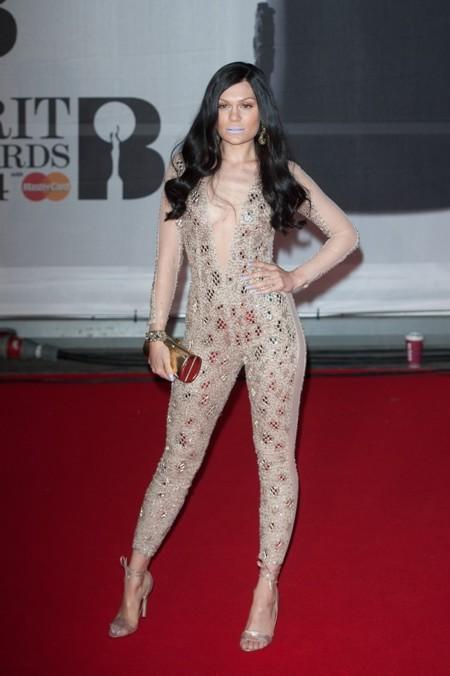 Las peor vestidas en los Brit Awards 2014