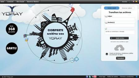 Ydray, sistema de transferencia de grandes archivos adaptado a la LOPD