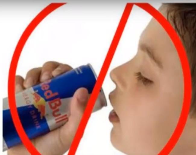 Bebidas energéticas en niños