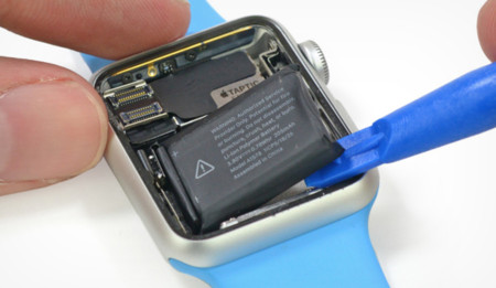 Las tripas del Apple Watch al descubierto gracias a iFixit