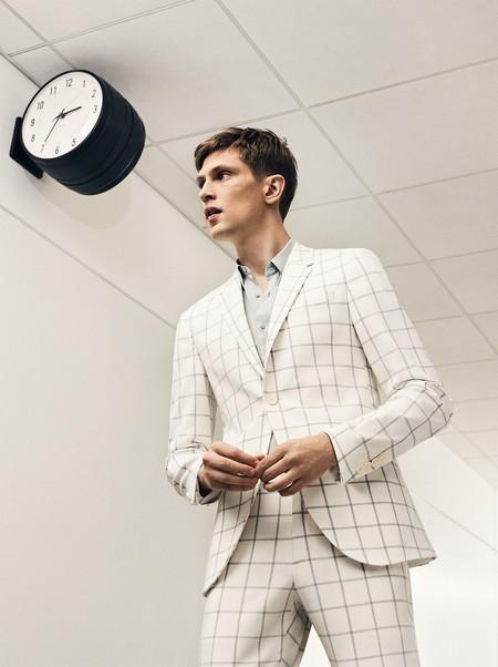 De Blanco Por La Vida La Propuesta Tailoring De Zara Con Tonos Frescos Para La Temporada