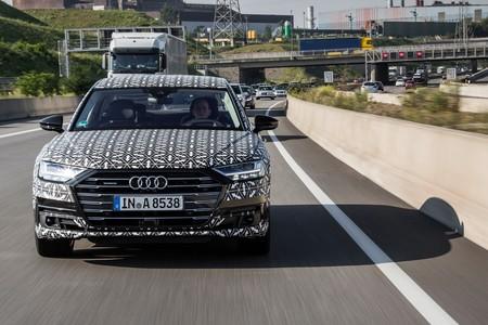 Audi A8 2018 Ai Traffic Jam Assist 11