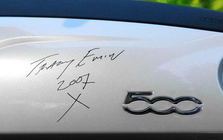 Fiat 500 por Tracey Emin