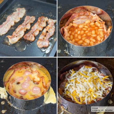 Tarta de desayuno inglés