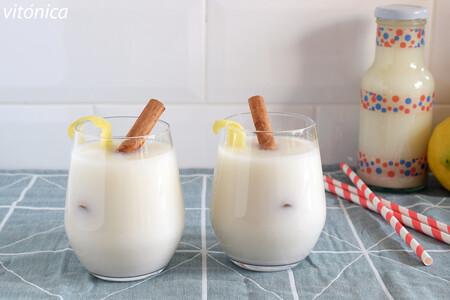 Bebida de avena casera con limón y canela: receta saludable refrescante