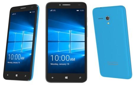 Alcatel presenta el OneTouch Fierce XL, un teléfono económico con Windows 10