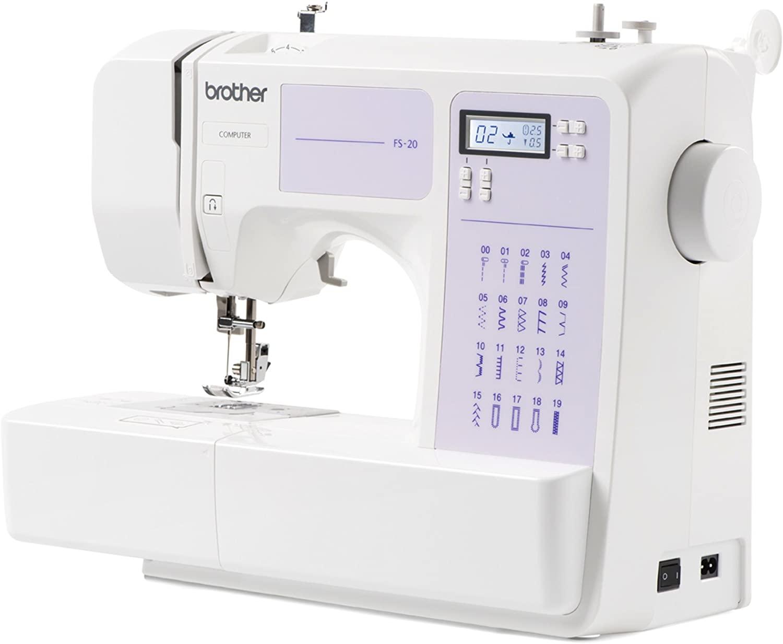 Máquina de coser Brother FS20, Electrónica, 32 funciones de costura, Portátil