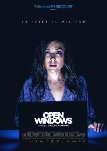 'Open Windows' de Vigalondo, cartel y tráiler final