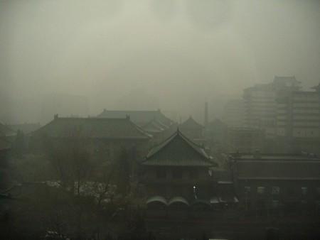 Pekín está hasta arriba de polución