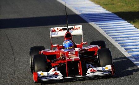 Fernando Alonso, el más rápido tras la última mañana de las pruebas de Jerez