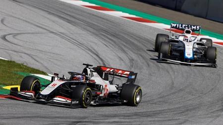 Grosjean Austria F1 2020