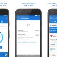 Google tiene su propia aplicación Android para administrar el consumo de datos móviles