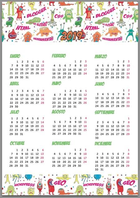 Calendario Code