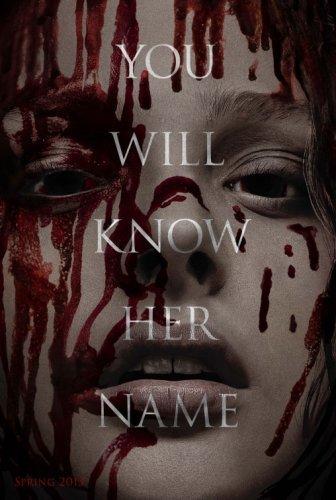 El primer póster de Carrie