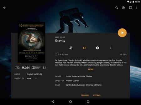 Plex for Android actualiza a Material Design para ofrecer una mejor experiencia visual