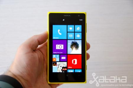 Lumia 1020 en mano