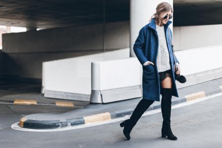 Mikuta Aran Sweater And Ganni Coat 1
