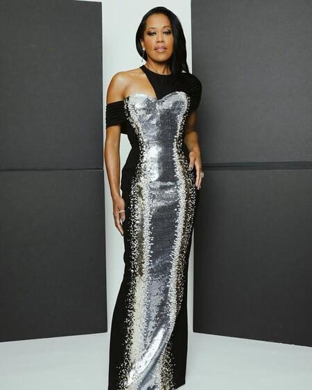 Regina King Louis Vuitton Golden Globes 2021