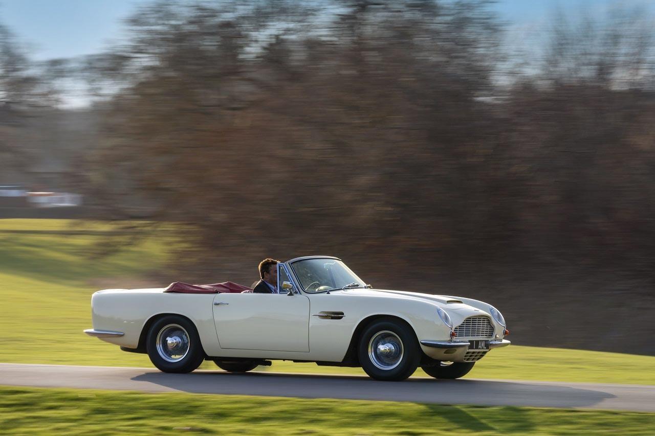 Foto de Aston Martin convierte tu auto clásico en un coche eléctrico (9/15)