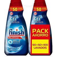 El pack de 100 dosis Finish Todo en 1 Plus para lavavajillas está rebajado a 10,43 euros en Amazon