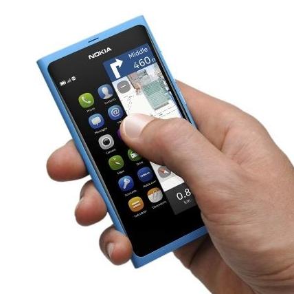 Nokia N9 Swipe